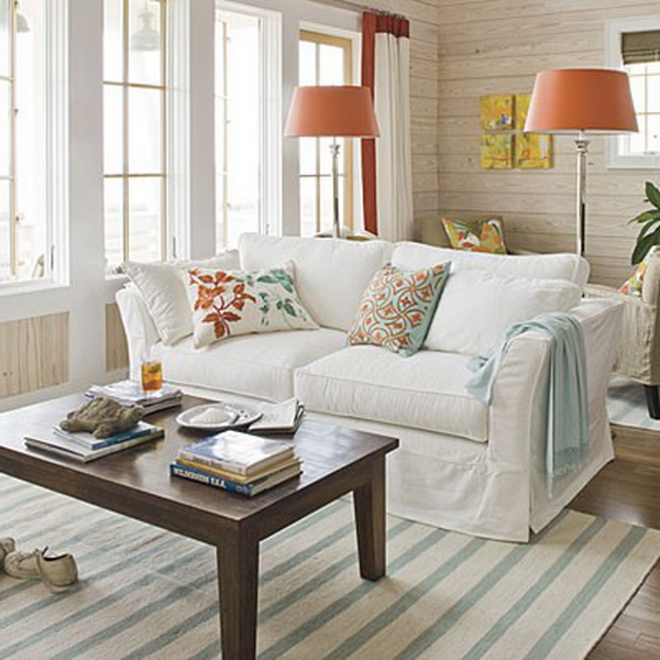 Beach House Color Ideas: Yeni-Moda-krem-rengi-ev-dekorasyonu-Görselleri › DEKOR