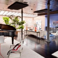 "Private house ""Loft in NY"" - photos. tasarımları"