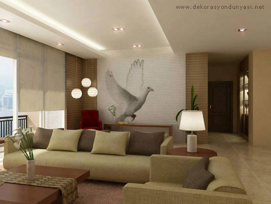 beautiful wall designs for living room en g 252 zel salon asma tavan modelleri dekor sarayi 26560
